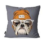 Almofada Avulsa Cinza Bulldog Cool