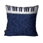 Almofada Avulsa Música Azul Teclado