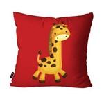 Almofada Avulsa Vermelho Girafa