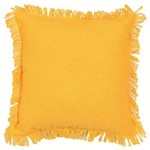 Almofada Campestre 40x40cm Solid Amarelo