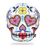 Almofada Caveira Dia dos Mortos Mexicano