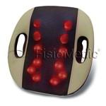 Almofada de Massagem Shiatsu Massageador Elétrico com Infravermelho LUMINA Fisiomedic