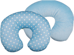 Almofada de Pescoço Bebê Azul - Imagina só Presentes Criativos