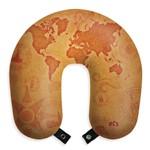 Almofada de Pescoço Travesseiro Apoio para Viagem e Descanso Mapa Mundi Viajar Viagem Mundo Ferias Macia Gostosa Avião