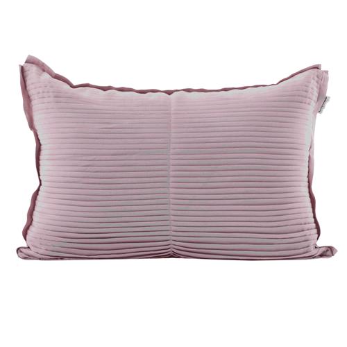 Almofada de Plissê Rosa 0,40X0,60 Cm
