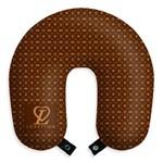 Almofada de Viagem Lovetton Diva Poderosa Fashion Travesseiro para Descanso com Botão
