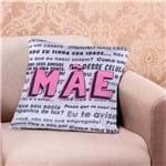Almofada Decorativa 45x45cm Data Especial Conselhos de Mãe Conselhos de Mae
