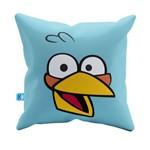 Almofada Decorativa Angry Bird Azul Pelúcia 40x40 Almofadageek