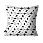 Almofada Decorativa Avulsa Branco Stars