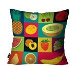 Almofada Decorativa Avulsa Cores Frutas Coloridas