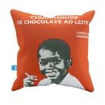 Almofada Decorativa Cigarrinhos de Chocolate Pelúcia 40x40 Almofadageek