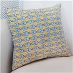 Almofada Decorativa Elefante Azul 100% Algodão