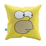 Almofada Decorativa Homer Simpson Pelúcia 40x40 Almofadageek