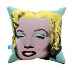 Almofada Decorativa Marilyn Monroe Pelúcia 40x40 Almofadageek