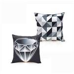 Almofada Diamante de Fibra Veludo 40x40cm - Zona Criativa