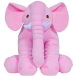 Almofada Elefante Gigante Rosa Buba