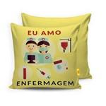 Almofada EU AMO ENFERMAGEM - Fofinho Toys