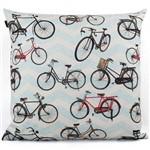 Almofada Ilustro 45x45 Bicicleta - Cortbras - Colorido