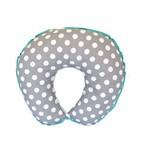 Almofada para Amamentação Cinza e Azul Tiffany