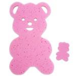 Almofada para Banheira Urso Rosa