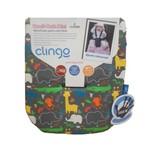 Almofada para Carrinho Mini Memory Foam Jungle B - Clingo