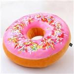 Almofada Rosquinha Magma Donut Granulado Morango