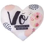 Almofada Shape Coração - Vó, Amor Pra Sempre