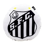Almofada Shape Redonda - Santos Fc
