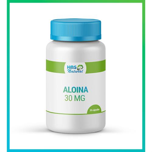 Aloína 30mg Hms Cápsulas 30cápsulas