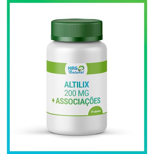 Altilix 200mg + Associações Cápsulas Vegan 30cápsulas