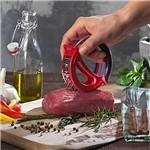 Amaciador para Carne A0103 Vermelho Basic Kitchen