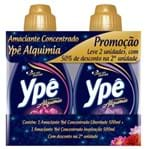 Amaciante Roupa Concentrado Ype 500ml 50% 2 Unidade Blue