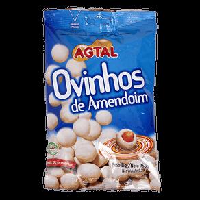 Amendoim Agtal Ovinhos 150g