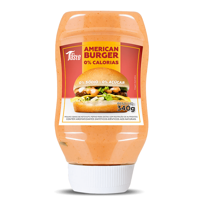 American Burguer (340g) Mrs. Taste