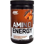 Amino Energy On Optimum Nutrition 30 Doses - Sabor Caramel Macchiato Gelado