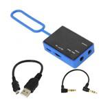 Amplificador para Fone de Ouvido Yoga HA01 Portátil - Azul