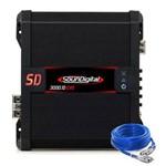 Amplificador Soundigital Sd3000 1d Evolution II 1 Canal Digital 1 Ohm