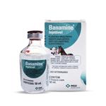 Analgésico Injetável MSD Banamine para Equinos e Bovinos 50ml