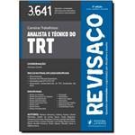 Analista e Técnico do Trt: 3641 Questões Comentadas - Coleção Revisaço