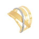Anel em Ouro 18K Acetinado - AU6244