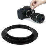 Anel Inversor Canon 52mm - Macrofografia