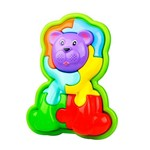 Animal Puzzle 3D Leao - Roxo CALESITA