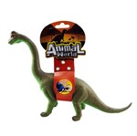 Animal World Dinossauro com Som 25 Cm - Brachiosaurus - Buba