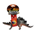 Animal World Dinossauro com Som 25 Cm - Stegosaurus - Buba