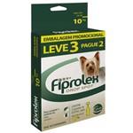 Anti Pulgas e Carrapatos Ceva Fiprolex Drop Spot de 0,67 Ml para Cães Até 10 Kg - Leve 3 Pague 2