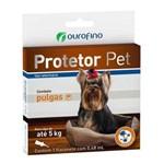 Anti Pulgas Ouro Fino Protetor Pet de 0,48 Ml - Cães Até 5 Kg
