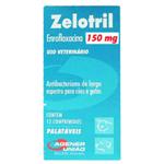 Antibacteriano Zelotril 150mg - 12 Comprimidos