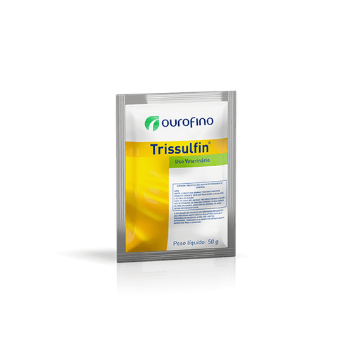 Antimicrobiano Ourofino Trissulfin em Pó para Aves 100g