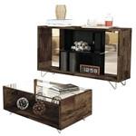 Aparador Duo e Mesa de Centro Charmy Deck – HB Móveis