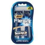 Aparelho de Barbear Bic Flex 3 com 2 Unidades